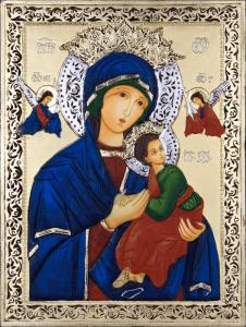 Св. Богородица с Младенеца - Нова икона
